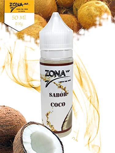 Zona Vap Coco 50ml E líquido Liquido Vaper Para Cigarros