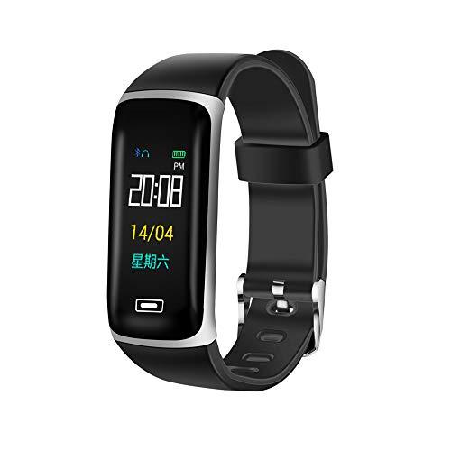 Chenang M5 Plus Fitness Armband,Intelligente Uhr mit Zeit Leichtgewichts Fitness Tracker Uhr Fitnessarmband mit Herzfrequenzmessung Stoppuhr und Fitness-Tracker