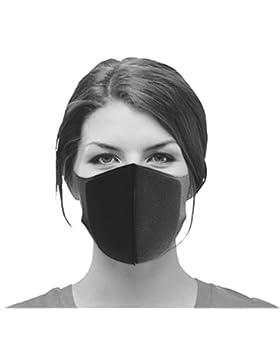 Máscara transpirable, PITTA, máscara para la boca con enganches para las orejas, antivirus, protección frente...