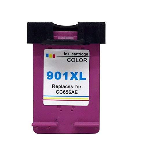 1XL compatible HP 901X L Cartucho de tinta reemplazo para Officejet 4500J4500J4524J4535J