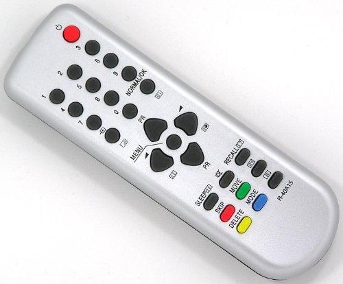 Ersatz Fernbedienung für Daewoo R-40A15 Fernseher TV Remote Control / Silber / Neu