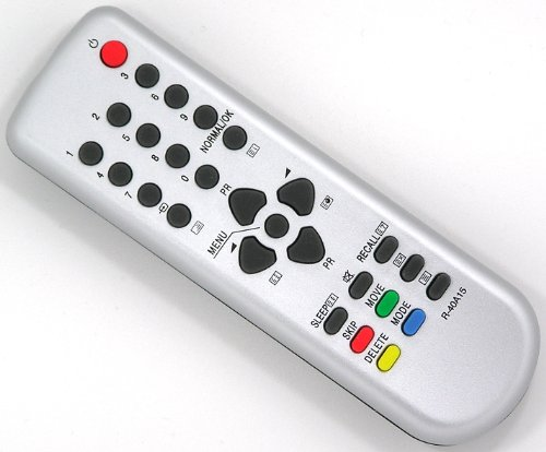 ersatz-fernbedienung-fur-daewoo-r-40a15-fernseher-tv-remote-control-silber-neu