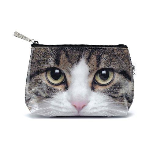 Catseye Cosmetics Bag - Tabby Cat