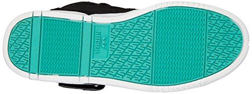 Supra BLEEKER, Unisex-Erwachsene Hohe Sneakers Schwarz (BLACK  / ATLANTIS - OFF WHITE   BLK)