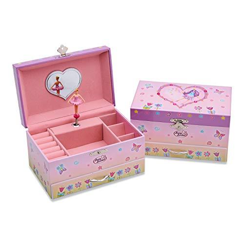 Caja de Música con diseño de Hadas - Joyero Musical para niñas - Lucy Locket