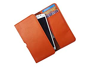 ATV PU Leather SAFFRON Pouch Case Flip Cover For SAMSUNG GALAXY ACE 3