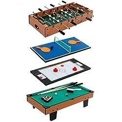 ColorBaby - Mesa multijuegos de madera, 87 x 43 x 28 cm (85327)