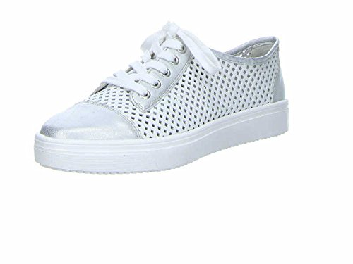 Remonte R7804, Sneakers Basses Femme Blanc (Ice/weiss/81)