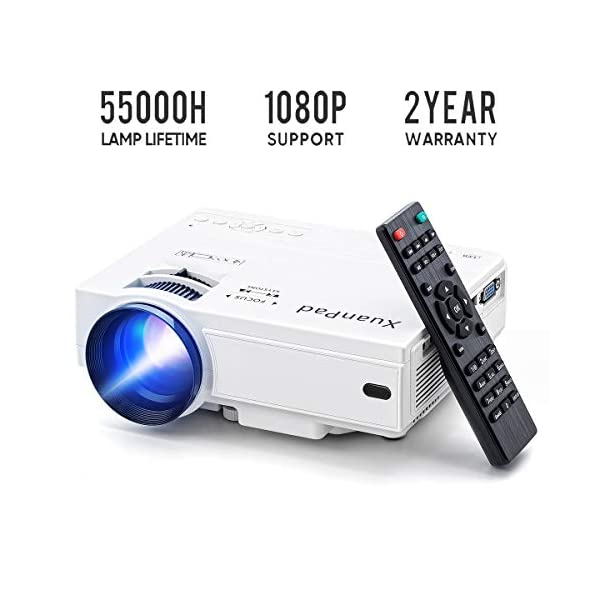 XuanPad-Mini-Projecteur-Vidoprojecteur-Portable-RetroprojecteurMultimdia-Home-Cinma-Full-HD-Pordinateur