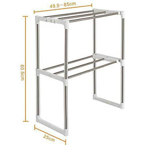Vory High Quality Stainless Steel Multifunctional Microwave Oven Shelf Rack Kitchen Storage Holders
