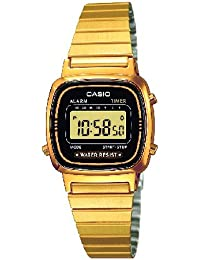 Casio Damen-Armbanduhr Casio Collection LA670WEGA-1EF