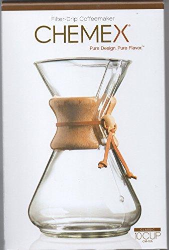 Jarra Chemex con cuello de madera cafetera | 10 tazas