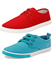 Bersache Men's Elegant Casual & Party Wear Canvas Sneaker