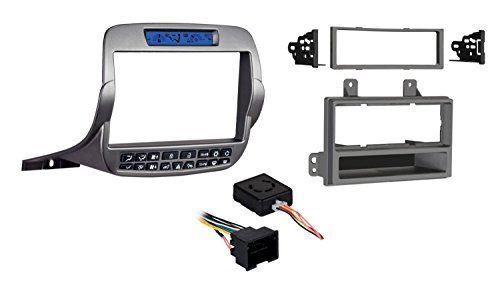 Price comparison product image Metra 99-3010S-LC Double / Single DIN Installation Kit for Chevy Camaro 2010-UP (Silver)