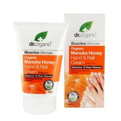 Dr. Organic Natural Organic Manuka Honey Intensive 12 Hours Rescue Hand and Nail Cream 125ml