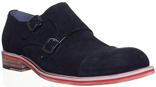 Justin Reece , Chaussures de ville à lacets pour homme Noir - Black 116