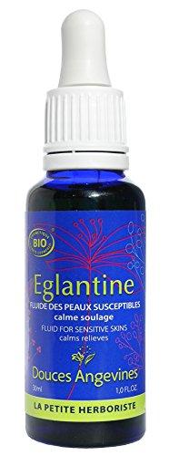 Les Douces Angevines Fluide des peaux susceptibles Eglantine 30ml