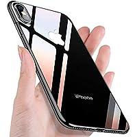 UBEGOOD Funda iPhone XS MAX, Carcasa iPhone XS MAX Ligera Silicona Suave TPU Gel iPhone XS MAX Bumper Case Cover de Protección Antideslizante Caso para iPhone XS MAX-Negro