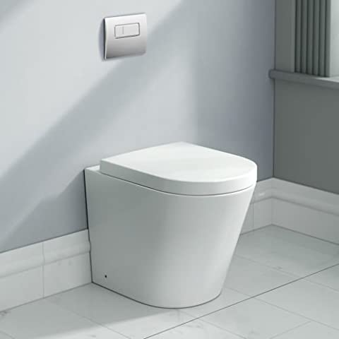 Cone Back to Wall Toilet BTW With Soft Close Seat