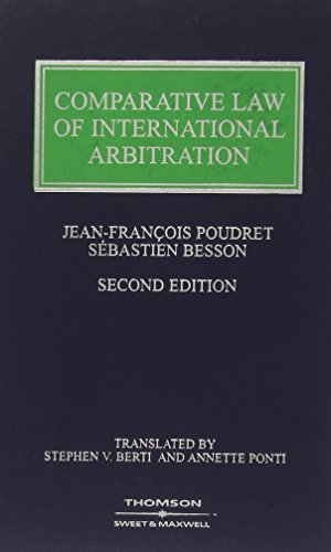 Comparative Law of International Arbitration
