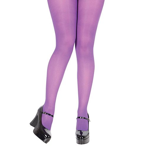 Beige Opaque Strümpfe (Purple Opaque Tights)