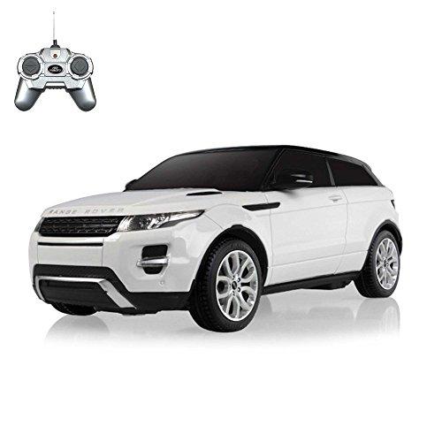 Range Rover Evoque - Original ferngesteuertes Lizenz-Fahrzeug Auto Car im Modell-Maßstab 1:24, Ready-to-Drive, inkl. Fernsteuerung
