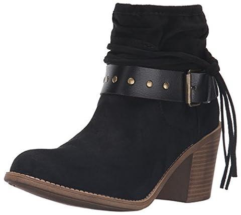 Roxy Dallas Damen US 6 Schwarz Mode-Stiefeletten