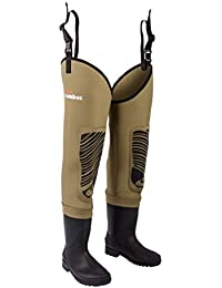 Snowbee Men's Classic Neoprene Cleated Sole Thigh Wader