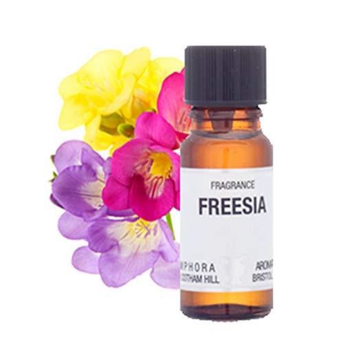 Freesia Flacon compte-gouttes en verre ambre 10 ml
