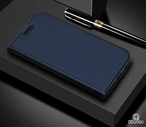 JMGoodstore Coque Compatible Huawei P30 Pro,Housse Cuir 360 Degres,Flip Premium Stand Support Carte Crédit Slot Folio Case Portefeuille Etui+Protection Verre...