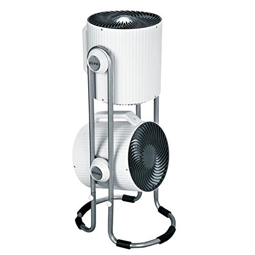 USB-Aufladung Weißer doppelköpfiger kreativer Ventilator/stehender Luft-Konvektions-kreisförmiger Ventilator/Energieeinsparung / Turbinen-Abluftventilator/elektrischer Ventilator 42 * 90 cm Kann