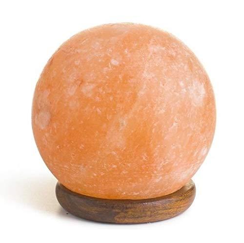 Lampe sphère de sel de l'Himalaya, 100 % authentique Aromasenses
