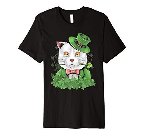 St. Patricks Day Kostüm Shirts Katze Geschenkidee Cat TShirt