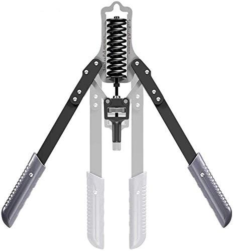 Relaxbx Power Twister Trainingsstange Einstellbarer Widerstand von 15 kg bis 75 kg Beste Armübungen für die Stärkung des Oberkörperarms Home Gym Fitness