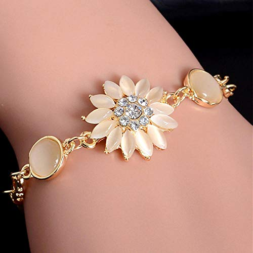 Bracelet Femme Bracelet squelette en cristal Cadeau d'anniversaire Valentin Mariage(H440)