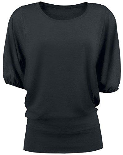 Forplay Leisure Shirt Maglia lunga donna nero S