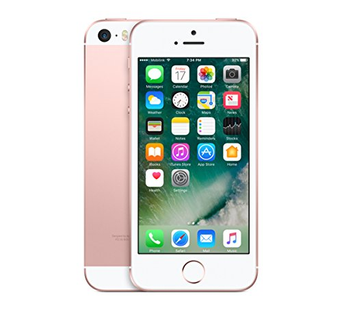 Renoviert Iphone ('2 nd by Renewd iPhone SIM 4 G 16 GB rotgoldfarben renoviert Smartphone (10,2 cm (4 Zoll), 16 GB, 12 MP, iOS, 10, Gold, Rosé))