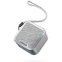 Anker SoundCore Nano Super Mini Bluetooth Lautsprecher Wireless Speaker mit Großen Sound und Mikrofon für iPhone, iPad, Samsung, Nexus, HTC, Laptops und weitere (Grau)