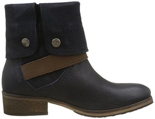 Gaastra Damen Gioia Mid Fld Kurzschaft Stiefel Blau (7300 NAVY)