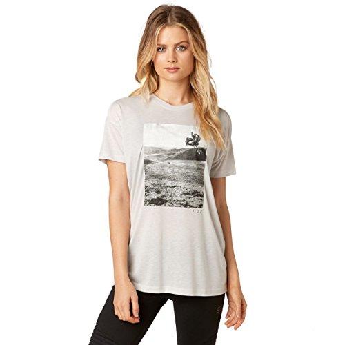 Fox Girls T-Shirt Picogram Cool Grey Grau