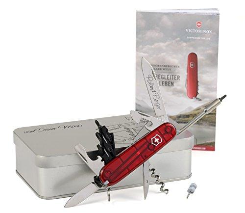 Box Mit Taschenmesser (Victorinox CyberTool 29 Taschenmesser Geschenk-Box mit Wunschgravur)