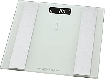 Proficare Pc-pw 3007 Fa 8in1 Elektronische Glas-personenwaage Mit Edelstahleinlage, Multifunktions-lcd-display, Sensor-touch-bedienung 0