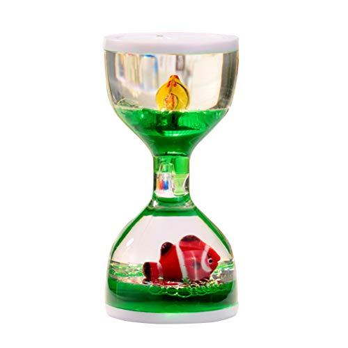 LIOOBO Cronómetro Marino Efecto Reloj Arena líquido