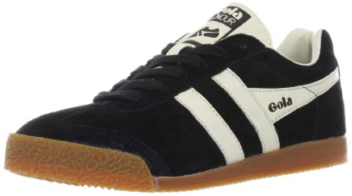 Gola  Harrier Suede, Sneakers Basses femme Noir (Black/Ecru)