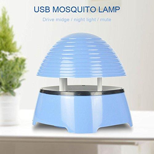 Etbotu Moskito Lampe Schnurlose wiederaufladbare tragbare Nonradiative Anti Mosquito Bug UV Licht Insekt Killer Lampe Mosquito Magnet-falle