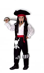 Humatt Perkins - Disfraz de capitán infantil (51635)