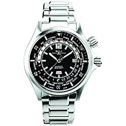 Reloj Ball Engineer Master II Diver, Ball RR1102, Negro/Verde, DM2020A-SA-BKGR