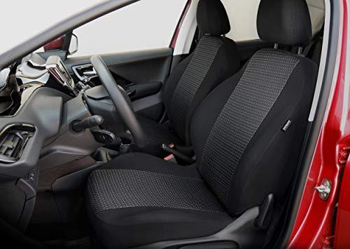 Coprisedili per auto, set completo, aggiustato individualmente 100% materiali molto robusta, imbottito, Jacquard, schiuma di poliuretano