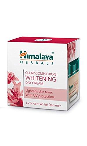 Himalaya klaren Teint Whitening Day Cream Hellt Haut ungleichmäßige Pigmentierung und Punkte - Herbal Day Creme