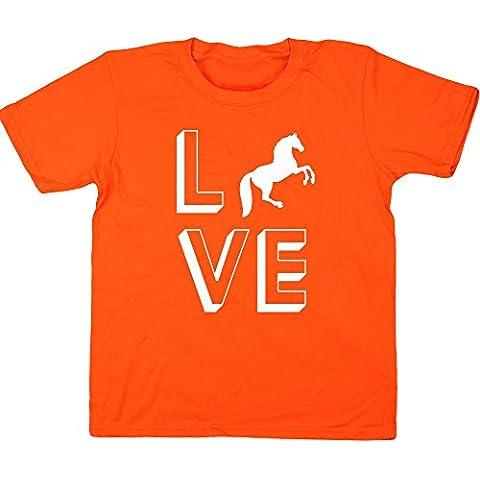 HippoWarehouse - Top - Bambina - Arancione Saddle